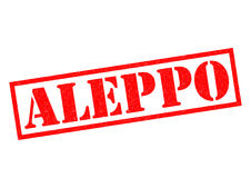ALEPPO Rubber Stamp Royalty Free Stock Photos