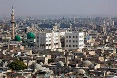 aleppo syria arkivbild
