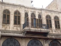 Aleppo in Syria at bay house Royalty Free Stock Photography