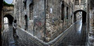 Aleppo Syria. Street view of the city of Aleppo. Syria Stock Image