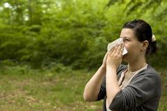 Alergia Imagen de archivo libre de regalías