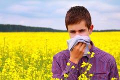 Alergia Foto de archivo libre de regalías