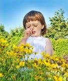 Alergia de la fiebre del polen Imágenes de archivo libres de regalías