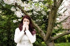 Alergia de la primavera imagen de archivo libre de regalías