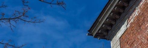 Alero del tejado Imagen de archivo