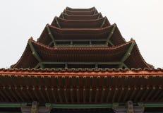 Aleros de la pagoda Fotografía de archivo libre de regalías
