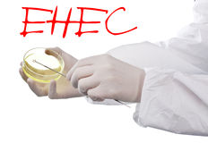 Alert for EHEC Stock Image
