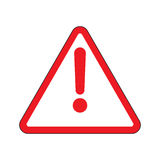 Alert icon stock Royalty Free Stock Images