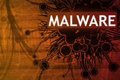 alert malwaresäkerhet Royaltyfria Foton