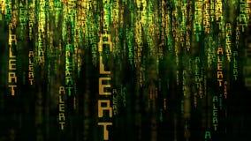 Alert Matrix Concept stock photos