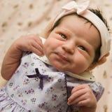 alert newborn baby royalty free stock photography