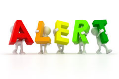 Alert Team Royalty Free Stock Images