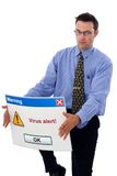 alert virus Arkivbild