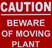 Advertencia Foto de archivo
