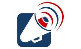 Alerte de mégaphone illustration libre de droits