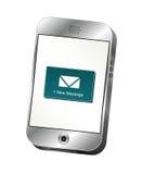 Alerte de Smartphone Photos stock