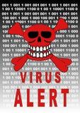 Alerte de virus Photos libres de droits