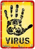 Alerte de virus informatique illustration libre de droits