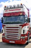 Ales - France - Grand Prix of France trucks May 25th and 26th, 2013 Royalty Free Stock Images