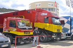 Ales - France - Grand Prix of France trucks May 25th and 26th, 2013 Stock Photo