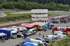 Ales - France - Grand Prix of France trucks May 25th and 26th, 2013 Royalty Free Stock Image