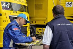 Ales - France - Grand Prix of France trucks May 25th and 26th, 2013 Royalty Free Stock Photos