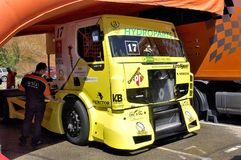 Ales - France - Grand Prix of France trucks May 25th and 26th, 2013 on the circuit of the Cevennes. Stock Photos