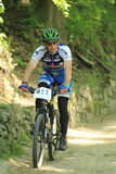 Ales Lanik - mountain bike race Royalty Free Stock Photography
