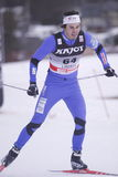 Ales Razym - ski sprint Stock Photo