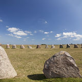 Ales standing stones Stock Photos
