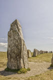 Ales Stenar Ancient Standing Stones Royalty Free Stock Image