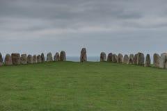 Ales stenar in de herfst Royalty-vrije Stock Foto