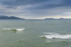 Alesaje de marea Fotografía de archivo libre de regalías