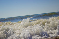 Alesaje de marea Foto de archivo libre de regalías