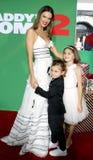 Alessandra Ambrosio, Νώε Ambrosio Mazur και Anja Ambrosio Mazur Στοκ Εικόνα