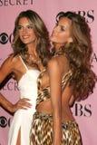 Victoria's Secret,Izabel Goulart,Alessandra Ambrosio Royalty Free Stock Photo