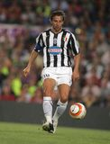 Alessandro Del Piero. Italian player Alessandro Del Piero in action during the friendly match between Barcelona and Juventus at Nou Camp Stadium August 24, 2005 Stock Images