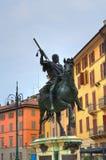 Alessandro Farnese statue. Piacenza. Emilia-Romagna. Italy. Royalty Free Stock Photography
