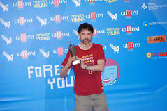 Alessandro Gassmann al Giffoni Film Festival 2013 Immagine Stock Libera da Diritti