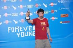 Alessandro Gassmann al Giffoni Film Festival 2013 Fotografía de archivo