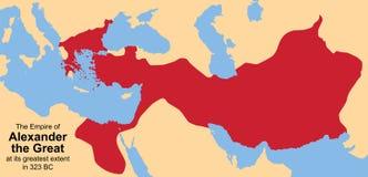 Alessandro Magno adenoide Immagini Stock Libere da Diritti