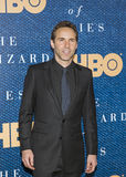 Alessandro Nivola. Handsome actor Alessandro Nivola arrives for the premiere of `The Wizard of Lies,` an HBO film production about the crooked financier royalty free stock photo