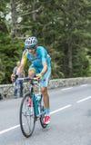 Alessandro Vanotti on Col du Tourmalet - Tour de France 2014. Col du Tourmalet, France - July 24,2014: The Italian cyclist Alessandro Vanotti of Astana Team Stock Image