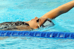 Alessia Filippi. MILAN, ITALY - SEPT 20:  Alessia Filippi swimming champion during the performance september 20, 2008 in Milan, ITALY Stock Photography