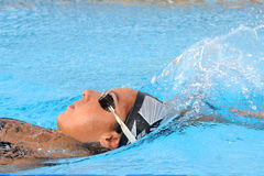 Alessia Filippi. MILAN, ITALY - SEPT 20:  Alessia Filippi swimming champion during the performance september 20, 2008 in Milan, ITALY Royalty Free Stock Photo