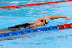 Alessia Filippi. MILAN, ITALY - SEPT 20:  Alessia Filippi swimming champion during the performance september 20, 2008 in Milan, ITALY Stock Images