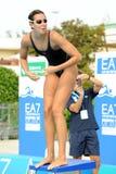 Alessia Filippi. MILAN, ITALY - SEPT 20:  Alessia Filippi swimming champion during the performance september 20, 2008 in Milan, ITALY Stock Photo