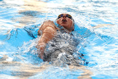 Alessia Filippi. MILAN, ITALY - SEPT 21:  Alessia Filippi swimming champion during the performance september 16, 2008 in Milan, ITALY Stock Photography