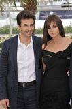 Alessio Boni, Monica Bellucci Stock Photo