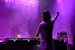 Alesso (Swedish DJ and electronic dance music producer) performs at FIB Festival Stock Photography